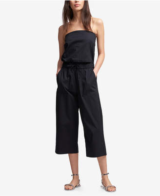 DKNY Strapless Elastic-Waist Jumpsuit, Created for Macy's