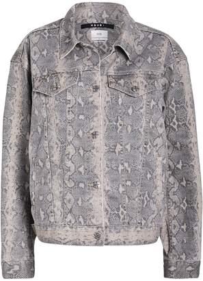 Ksubi Kobra Oversized Denim Jacket