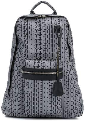 Golden Goose Golden print backpack