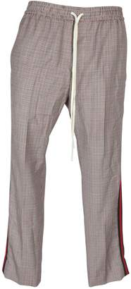 Gucci Houndstooth Track Pants