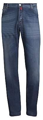 Kiton Men's Stretch Cotton Straight Jeans
