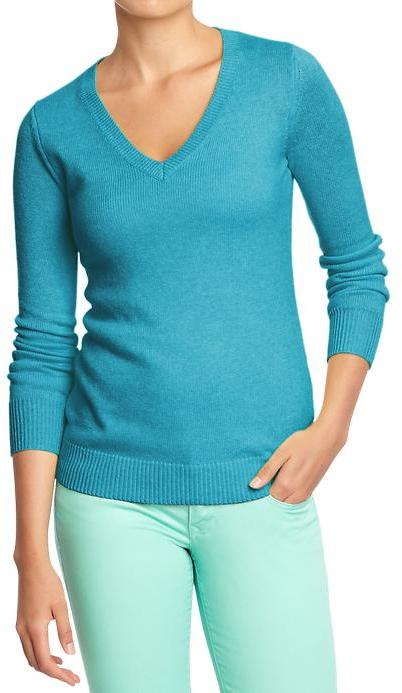 Old Navy Women's V-Neck Softest Sweaters