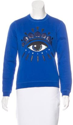 Kenzo Embroidered Knit Sweater $175 thestylecure.com