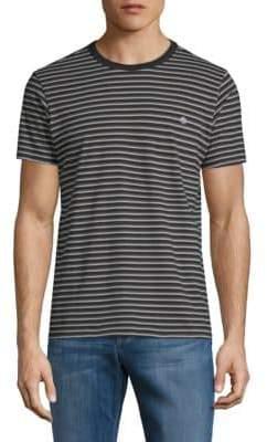 Tavik Union Stripe Short-Sleeve Cotton Tee