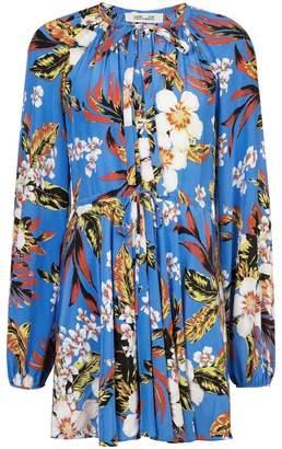 Diane von Furstenberg floral dress