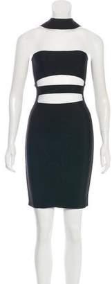 Balmain Cutout Knee-Length Dress