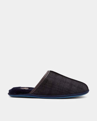 Ted Baker AYNTIN Checked mule slippers