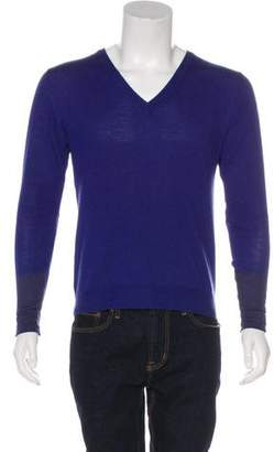 Etro V-Neck Long Sleeve Sweater