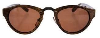 Alexander Wang x Linda Farrow Tinted Tortoiseshell Sunglasses