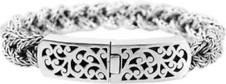 Lois Hill Sterling Silver ID Bracelet