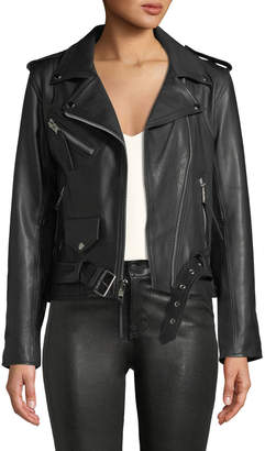 Moto Laurie Lee Leathers Not the Boss Of Me Leather Jacket