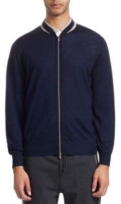 Brunello Cucinelli Varsity Collar Jacket
