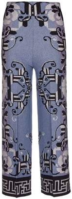 Circus Hotel Patterned Trousers