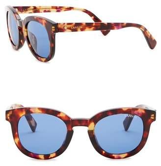 Lanvin 47mm Round Sunglasses