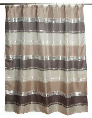 Famous Home Fashions Alta Stripe Shower Curtain