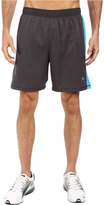Puma Men's Pe_running_7-Inch Shorts, Asphalt/Atomic Blue, S