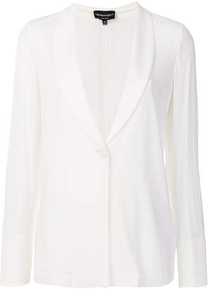 Emporio Armani shawl collar blazer