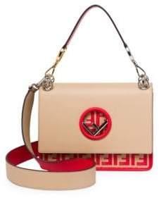 Fendi Kan I Logo Bottom Shoulder Bag