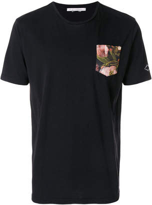 Daniele Alessandrini floral pocket T-shirt
