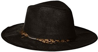 Collection XIIX Women's Suede Panama Hat with Feather Band $32.22 thestylecure.com