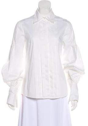 Robert Rodriguez Long Sleeve Button-Up Top