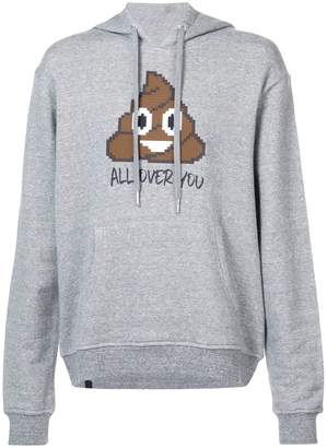 Mostly Heard Rarely Seen 8-Bit All Over You hoodie