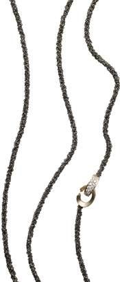 Antonini 18K White Gold Matera Chain and Silvermist Diamond Necklace, 42