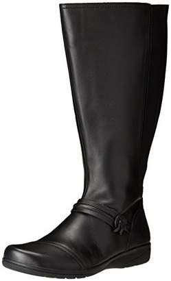 Clarks Women's Cheyn Whisk Wide Calf Riding Boot