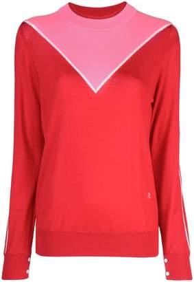 ADAM by Adam Lippes colour block sweater