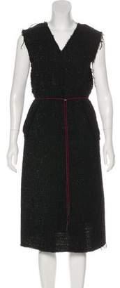 Yang Li Sleeveless Midi Dress