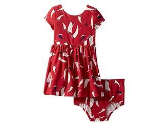 Ralph Lauren Baby Sailboat Twist-Back Dress (Infant)