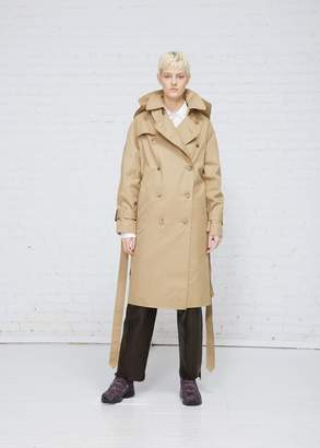 Vetements Parisienne Shrunk/Oversized Trench Coat