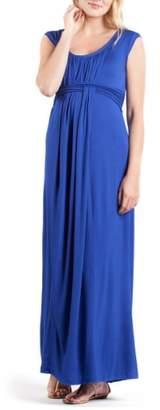 Savi Mom Athens Maternity/Nursing Maxi Dress