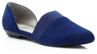 Eileen Fisher Flute Pointed Toe d'Orsay Flats $198 thestylecure.com
