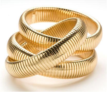 CC Skye Triple Cobra Bangles in 6 color combinations