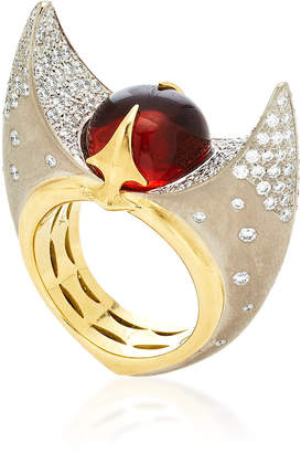 Kristen Farrell One-Of-A-Kind Taurus Ring