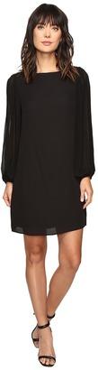Christin Michaels - Orpington Pleated Sleeve Dress Women's Dress $84 thestylecure.com