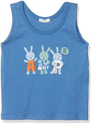 Benetton Baby Girls' Tank-top Vest, (Federal Blue 2h4), (Size: 50)