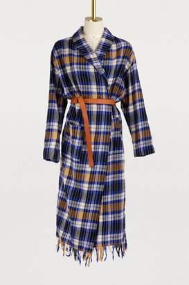 Forte Forte Tartan wool coat