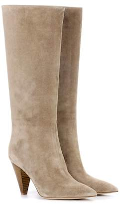 Gianvito Rossi Kelsey suede boots