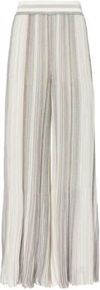 Missoni Striped Lurex Cropped Pants