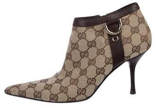 Gucci GG Monogram Booties