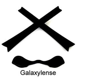 Oakley galaxylene Galaxy Replacement Noe Pad & Earock Rubber Kit For Radar Path Black