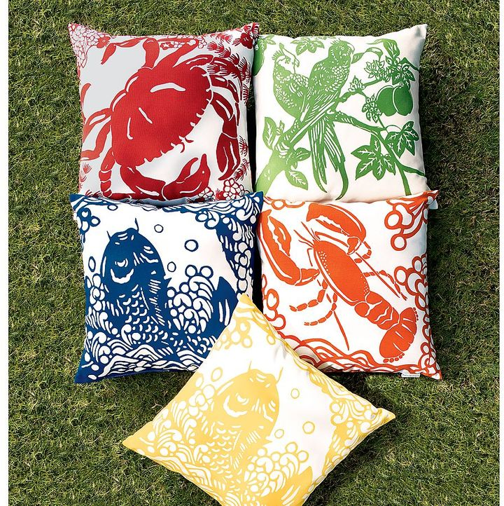Tropical Outdoor Pillow
