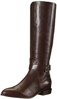 Nine West Women's Diablo Leather Knee-High Boot $179 thestylecure.com