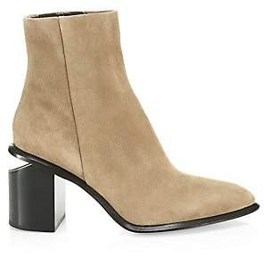 Alexander Wang Women's Anna Suede Ankle Boots