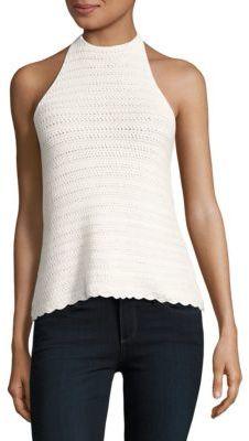1.STATE Tahiti Crochet Stitch Sweater $79 thestylecure.com