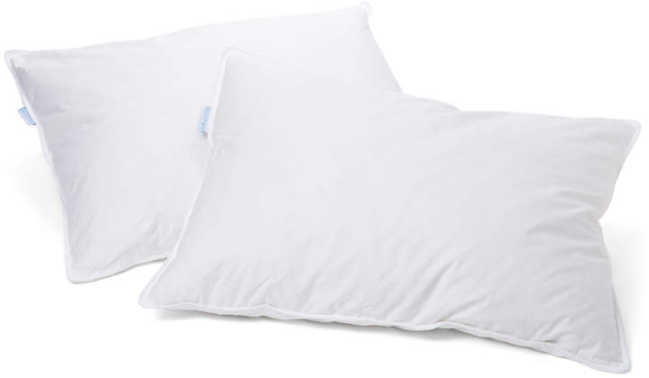 Cotton & Feather Down Pillow - Set of Two
