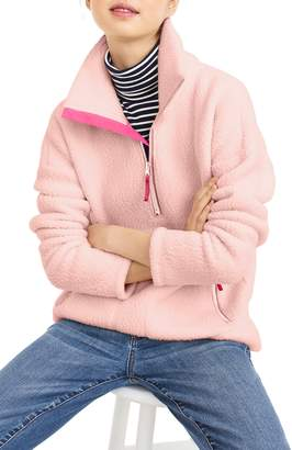 J.Crew Polartec(R) Fleece Half-Zip Pullover Jacket