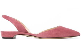 Paul Andrew pointed toe ballerinas $545 thestylecure.com